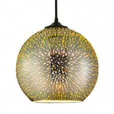 Светильник светодиодный подвесной E27 Медь, 3D HOROZ