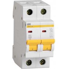 Автоматический выключатель 2П С 16А 4.5кА ВА47-29 IEK