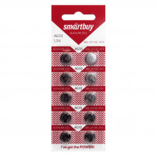Батарейка AG 10 Smartbuy