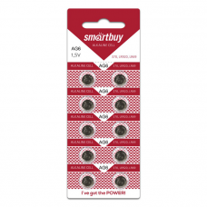 Батарейка AG 6 Smartbuy