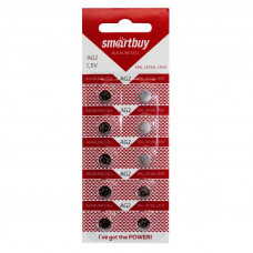 Батарейка AG 2 Smartbuy