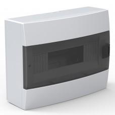 Бокс для автоматов пластиковый накладной белый (12 модулей) Horoz