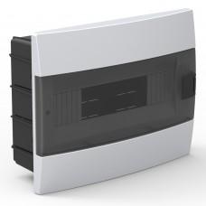 Бокс для автоматов пластиковый встраиваемый белый (12 модулей) Horoz
