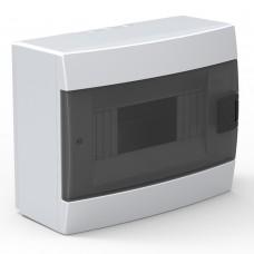 Бокс для автоматов пластиковый накладной белый (8 модулей) Horoz