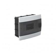 Бокс для автоматов пластиковый встраиваемый белый (8 модулей) Horoz