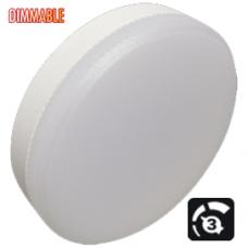 Светодиодная лампа GX53 8Вт 4200К LED Premium 3 степени диммирования (100%-50%-10% яркости) Ecola
