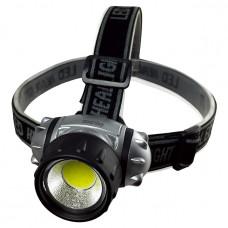 Фонарь налобный светодиодный 1W COB SmartBuy