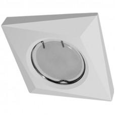 Встраиваемый гипсовый светильник  RD 102 WH квадрат белый