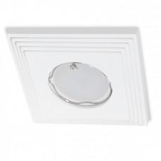 Встраиваемый гипсовый светильник  RD 111 WH белый