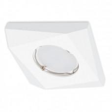 Встраиваемый гипсовый светильник  RD 115 WH белый