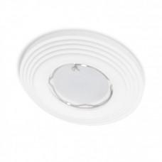 Встраиваемый гипсовый светильник  RD 116 WH белый