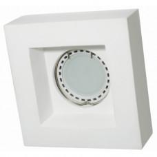 Встраиваемый гипсовый светильник  RD 119 WH белый