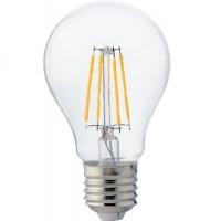 Светодиодная филаментная лампа Е27 шар A60 10Вт 2700K Horoz Electric