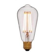 Светодиодная ретро лампа LED ST64 2C4+2000К 4Вт 400Lm E27 240V