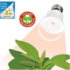 Светодиодная LED лампа полного спектра Uniel A60 10Вт E27 для растений