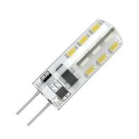 Светодиодная лампа G5.3 5Вт 3000К 220В ELVAN (силикон)