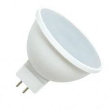 Светодиодная лампа MR16 GU5.3 8Вт 4200К (композит) матовое стекло Horoz