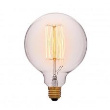 Ретро лампа G125 19F2 40Вт E27 (золотая)