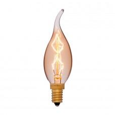 Ретро лампа CF35 7F4 40Вт E14 (прозрачная)