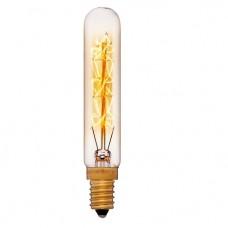 Ретро лампа T20 11F4 40Вт E14 (золотая)