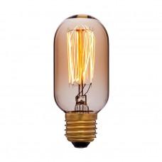 Ретро лампа T45 13F2 40Вт E27 (золотая)