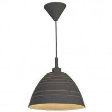 Светильник подвесной Lussole серый резиновый LSP-0193