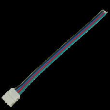 Кабель соединительный с одним 4-х контактными зажимами 10 мм/15 см