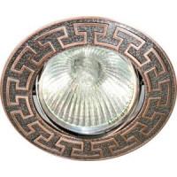 Декоративный поворотный светильник ЛБТ FT08 античная медь
