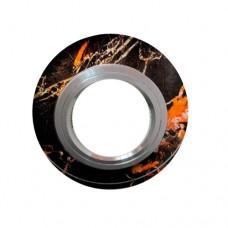 Встраиваемый точечный светильник 6575 черный/узор