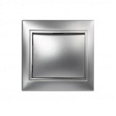 Выключатель 1-кл. Smartbuy Венера серебро