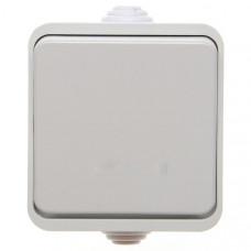 Выключатель 1-кл. IP44 Клио универсал бежевый