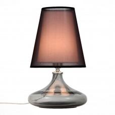 Лампа настольная ST LUCE AMPOLLA хром, дымчатый+черный Е27 1х60W