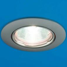 Встраиваемый потолочный светильник Gamma 51 1 12 MR16 поворотный литой матовый хром