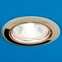 Встраиваемый потолочный светильник Nika 51 1 22 (никель/золото/никель)