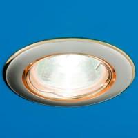 Встраиваемый потолочный светильник Nika 51 1 24 (золото/никель/золото)